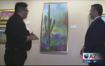 José Trujillo, el pintor mexicano que superó el ambiente antiinmigrante...