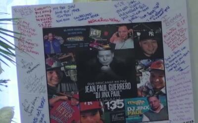 DJ Jinx Paul tuvo su último adiós en la tierra donde nació