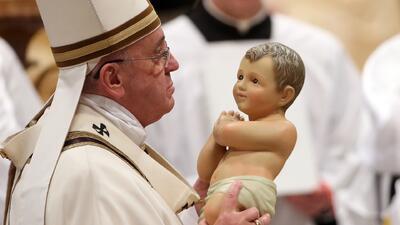 Conmovedor mensaje del Papa durante misa de Gallo