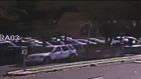 Policía divulga video de atropellamiento para tratar de encontrar al res...