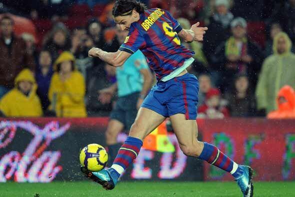 Ibrahimovic hizo el único gol de los 'culés'.