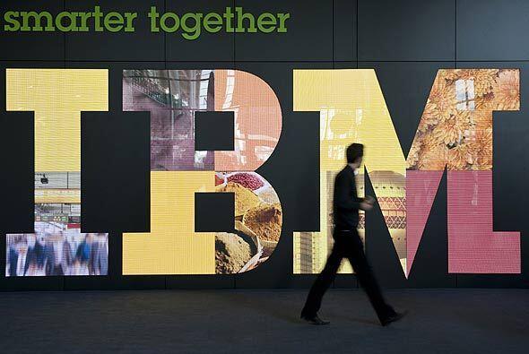 """IBM, beneficiado con su """"fuerte innovación"""" está valuada en $43,000 mill..."""