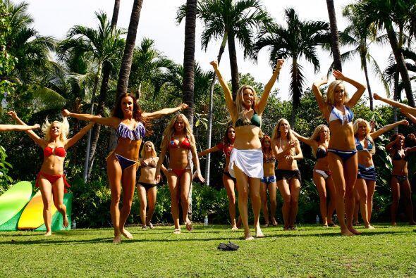 Las más bellas porristas de la NFL bajo el sol de Hawaii, listas...