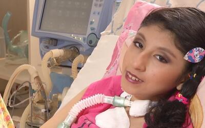 Una niña atada a una máquina para respirar encuentra su pasión haciendo...