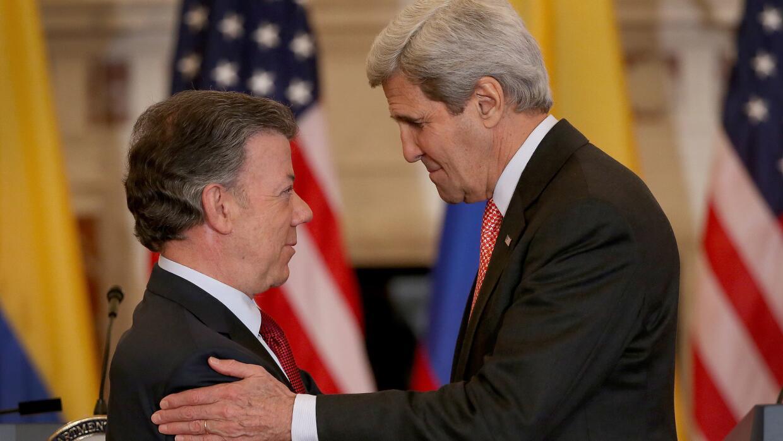 """Kerry: es """"prematuro"""" hablar del retiro de las FARC de la lista terroris..."""