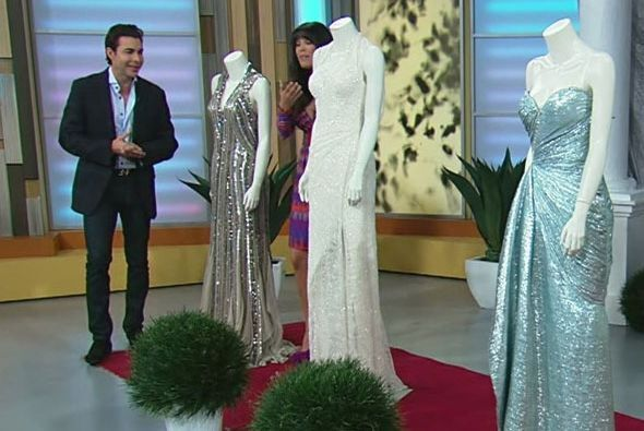 """""""El vestido tenía mucho encaje y también fue bordado a mano"""", detalló el..."""