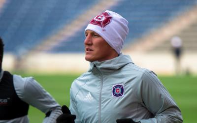 Bastian Schweinsteiger entrena con Chicago Fire