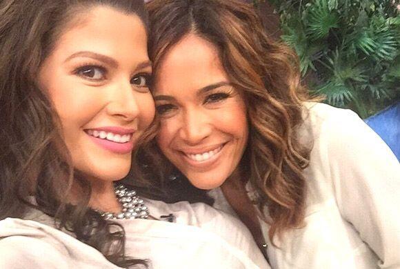 """#Selfie mañanero con mi @KarlaMartinez_Tv en @DespiertaAmericaTv"", dijo..."
