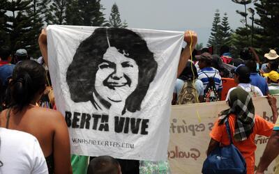 Berta Cáceres fue asesinada el 3 de marzo.
