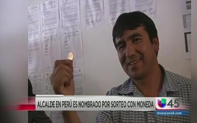 Eligen a un alcalde con un 'volado' en Perú