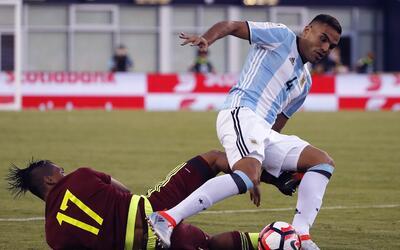 Gabriel Mercado tuvo una destacada actuación en la Copa Am&eacute...