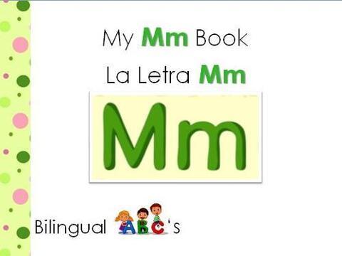 Te traemos otro libro bilingüe para aprender los sonidos de las letras....