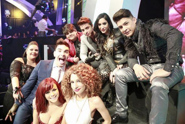 Junto al nuevo equipo de Dulce María - con Stephanie, Joyce y Ana Cristina.