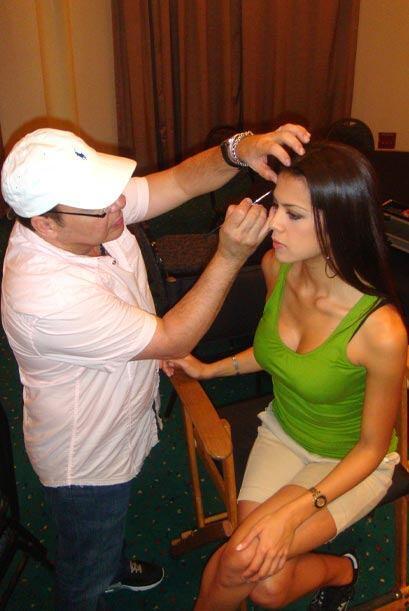 En Nuestra Belleza Latina hay maquillistas expertos que trabajan para qu...