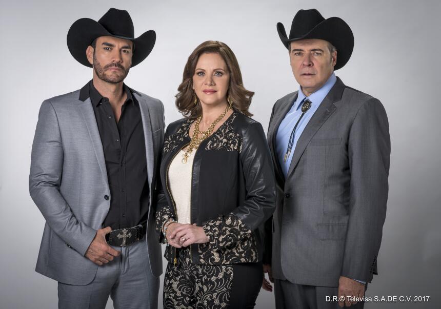 Estos son los personajes de 'La doble vida de Estela Carrillo'