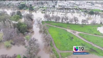 Autoridades registran inundaciones en el condado de Stanislaus