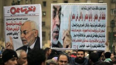 Mohamed Badía, líder espiritual de los Hermano Musulmanes, fue detenido...