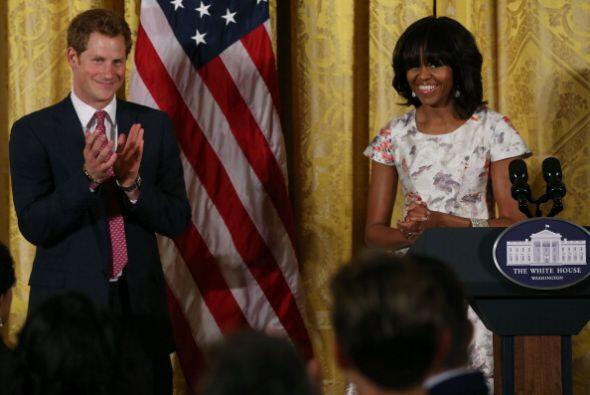 El príncipe Harry se encuentra de visita en Estados Unidos.