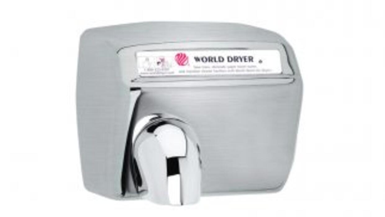 Secador eléctrico de aire caliente.