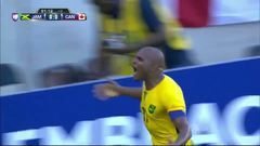 Gooool!!! Rodolph Austin remata de cabeza y anota para Jamaica