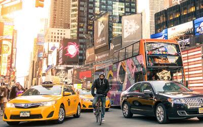 El tráfico en áreas como Manhattan podría verse red...