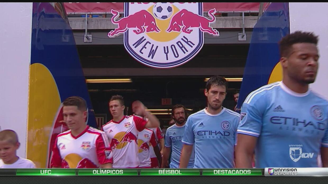 New York Red Bulls aplastó al son de 4 - 1 al New York City FC