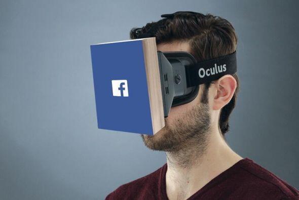 La última apuesta es el casco 3D Oculus de Facebook, con la que la compa...