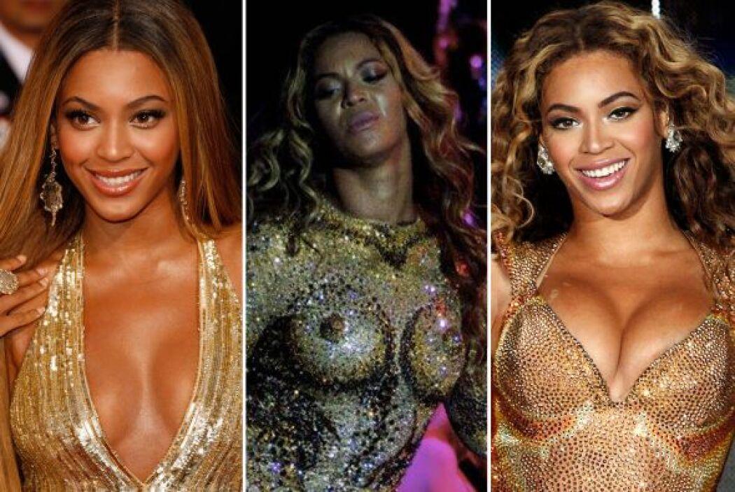 """Beyoncé es una de las famosas más bellas y sensuales del """"showbiz"""" y sus..."""