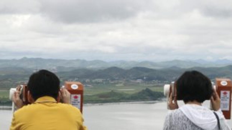 La comunicación directa entre Corea del Sur y Corea del Norte permaneció...