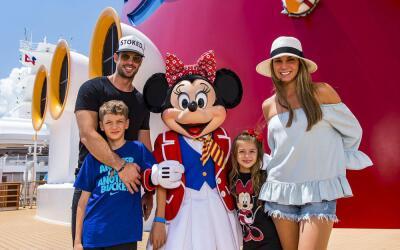 William Levy de vacaciones con su familia.