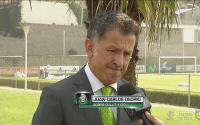 """Juan Carlos Osorio: """"Giovani dos Santos y Carlos Vela han alineado su vi..."""