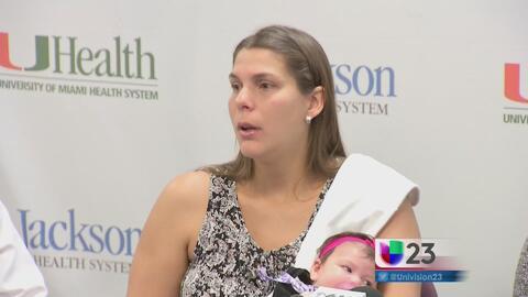 Madre hispana habla de los efectos del zika en su bebé