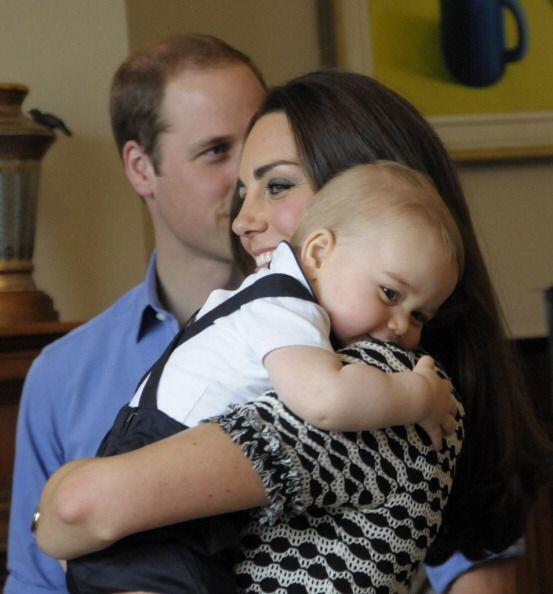 Asistió con sus padres, los duques de Cambridge a la sede de Gobierno de...