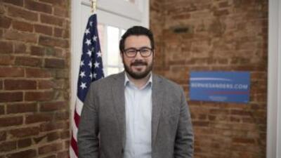 Héctor Sigala, director de medios digitales de la campaña de Bernie Sanders