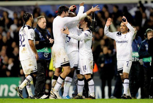 Con esto, el Tottenham se instaló en los Cuartos de Final del tor...