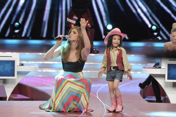 Saraí también requirió la ayuda de la juez invitada, Ana Bárbara.