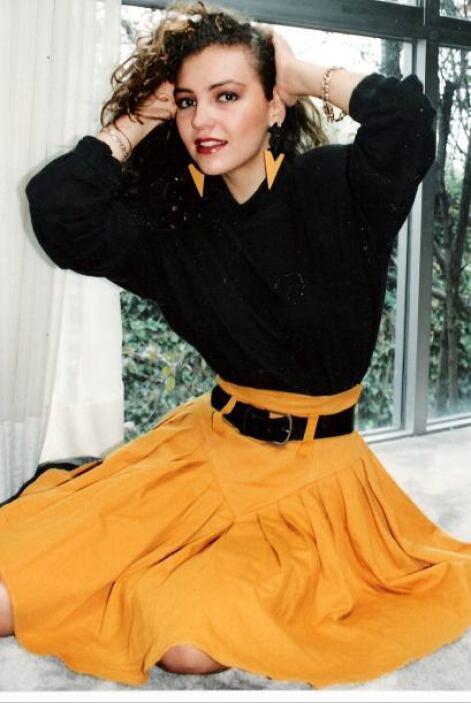Thalía en 1989 tenía 18 años y en aquel entonces planeaba lanzarse como...