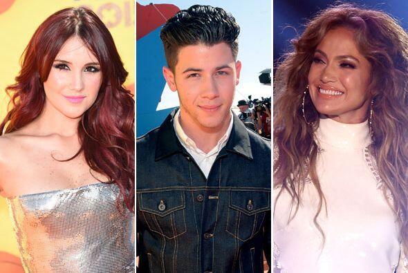 Dulce María, Nick Jonas y Jennifer Lopez (¡con Casper!) se dieron cita e...