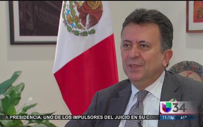 Nuevo cónsul de México en Los Angeles