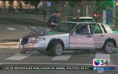 Seis heridos en aparatoso accidente vehicular