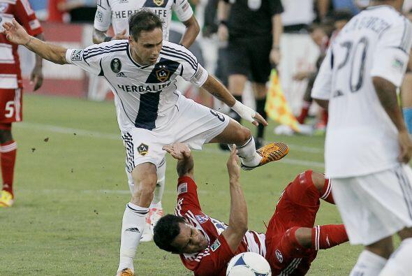 Sin Landon Donovan y David Beckham, el Galaxy sacó un apretado tr...