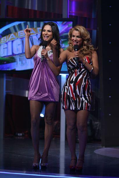 Una mexicana, la otra argentina, se han vuelto amigas inseparables.