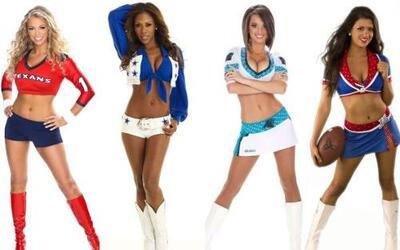 Las más lindas y simpáticas cheerleaders del 2013 se preparan para embel...