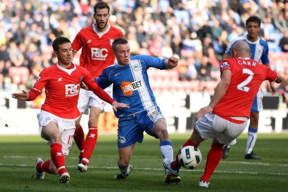 El Wigan enfrentó al Birmingham y se llevó una importante...