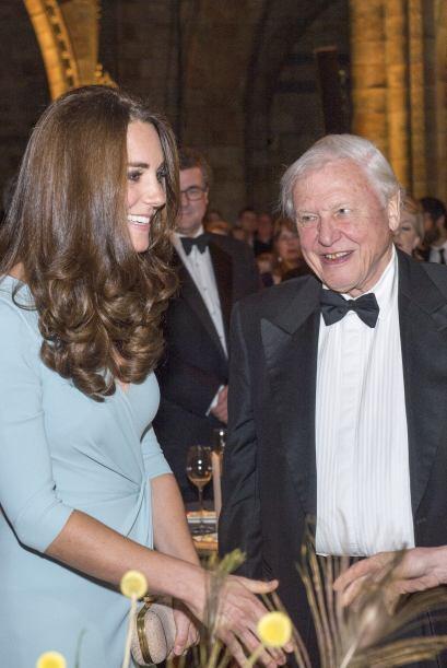 La Duquesa de Cambridge acudió a la entrega de los premios de fotografía...
