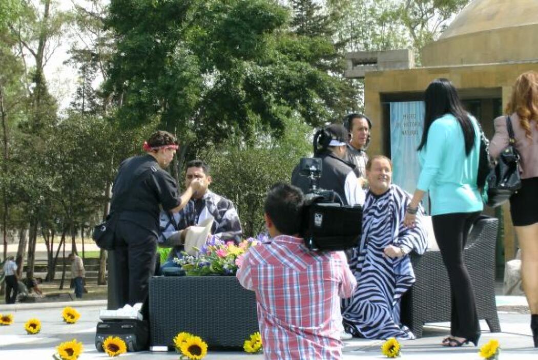 En esta ocasión, el show se llevó a cabo desde el Cárcamo de Chapultepec.