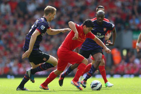 Los 'Reds' querían el empate en breve, pero la defensa de Arsenal estaba...