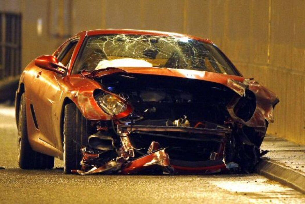 -Ferrari 599 GBT: Tal es el dinero que Cristiano gana que no le importa...