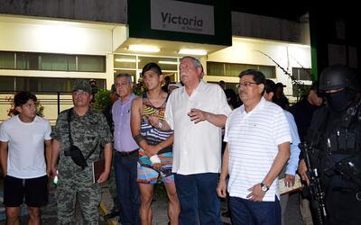 El futbolista Alan Pulido fue liberado la madrugada del domingo luego de...
