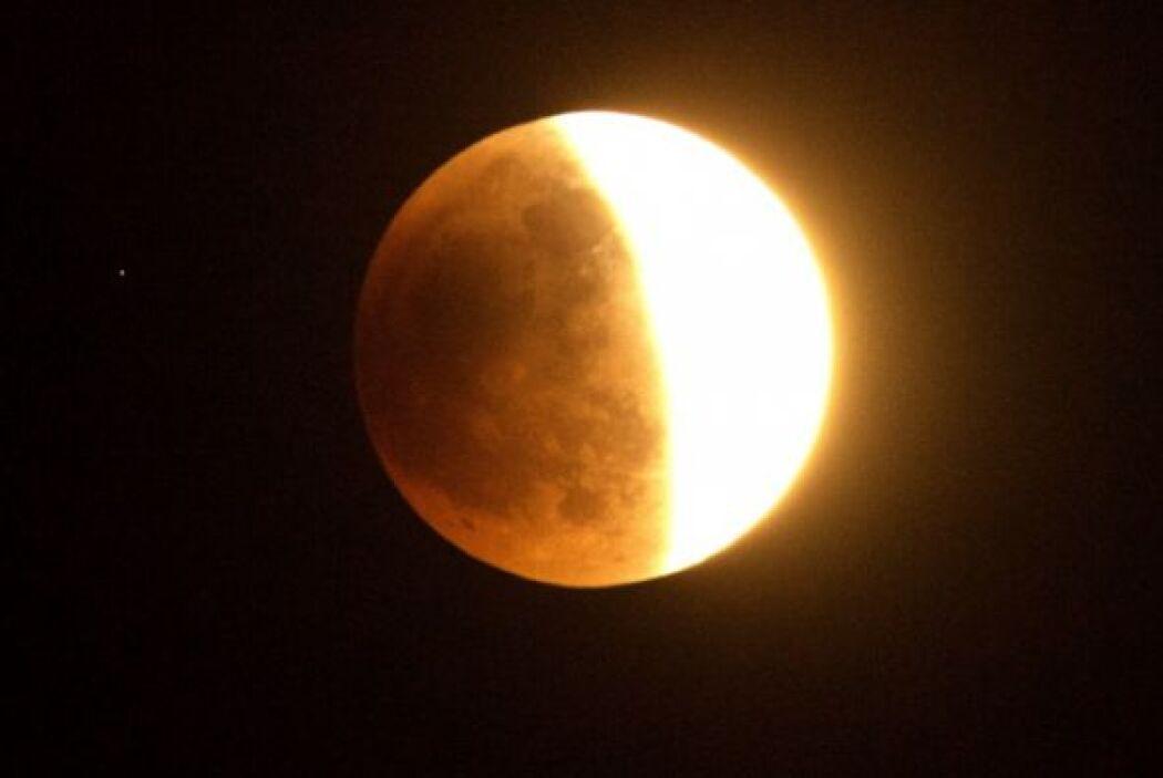 Es el primero de una tétrada de lunas rojas que se repetirá prácticament...